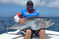 dogtooth tuna fishing around FAD