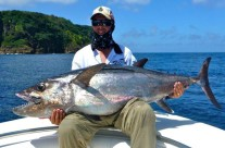 Fishing in Vanuatu for White Tuna
