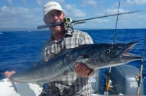 wahoo fishing in Vanuatu with FAD